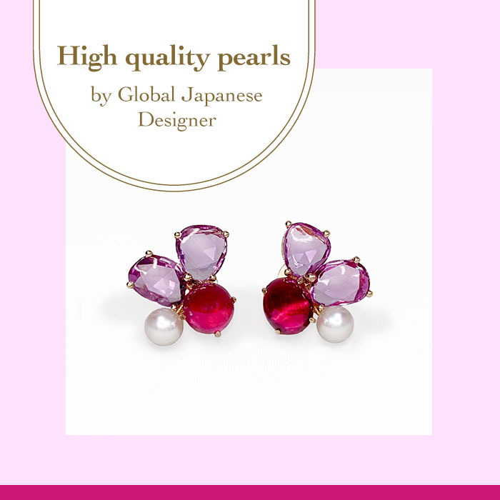 Ruby & Pink sapphire slice